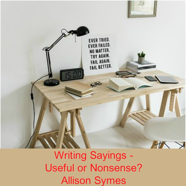 Feature Image - Writing Sayings