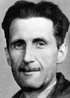 George Orwell - image via Pixabay