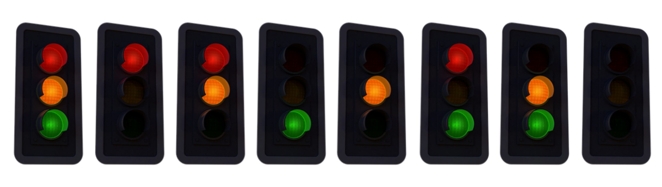If only everyone would obey the traffic light signals correctly - image via Pixabay