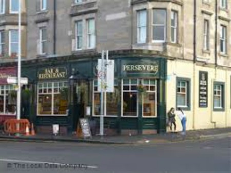The Persevere Bar in Edinburgh. Image kindly supplied by Val Penny.