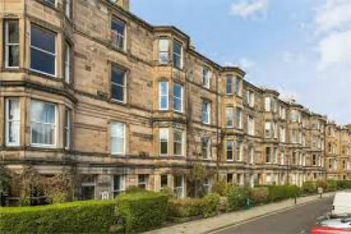 Gillepsie Crescent, Edinburgh. Image kindly supplied by Val Penny.