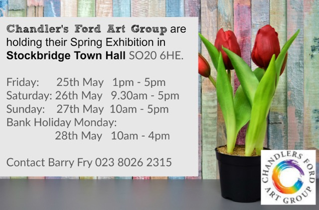 Chandler's Ford Art Group Exhibition Spring 2018