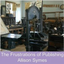 Feature Image - Frustrations of Publishing