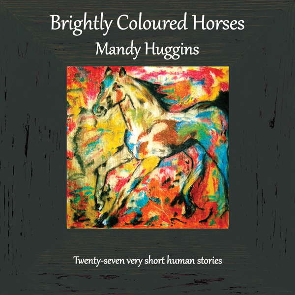 Brightly Coloured Horses. Image kindly supplied by Amanda Huggins