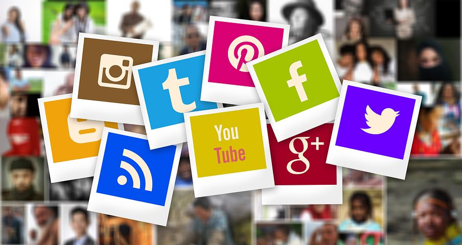Just some of the social media available now. - image via Pixabay