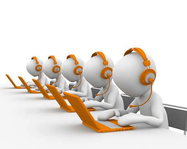 Does anyone actually welcome a call from a call centre? Image via Pixabay