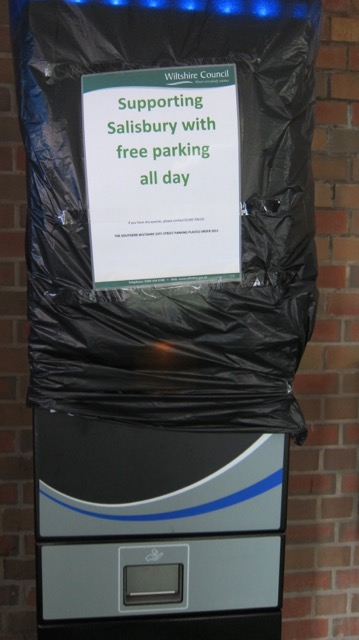 Free parking to support Salisbury