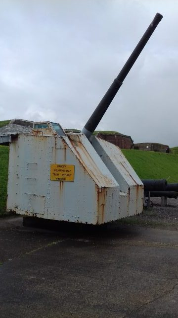 Artillery at Fort Nelson