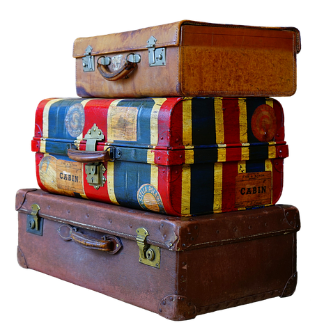 Part 6 - Lovely luggage but please no blocking of train aisles etc. Image via Pixabay