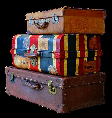 Part 6 - Lovely luggage but please no blocking of train aisles etc. Image via Pixabay