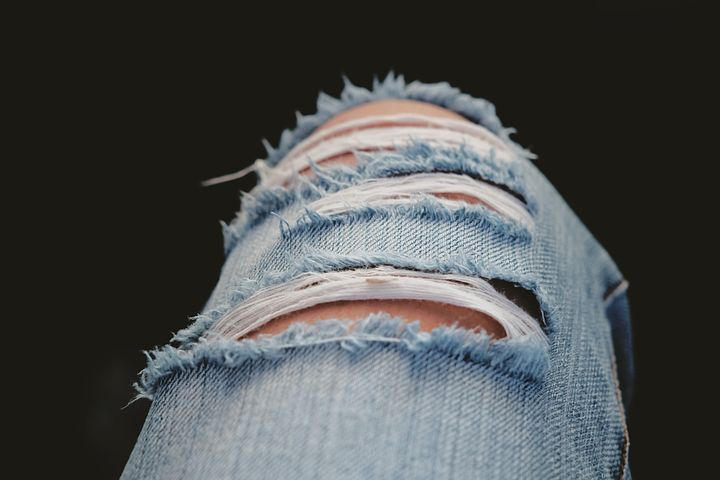 Part 6 - Ripped Jeans - why, oh why, oh why, Delilah (and anyone else foolish enough to wear these things). Image via Pixabay.