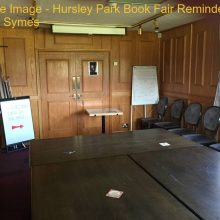 Feature Image - Hursley Park Book Fair Reminder