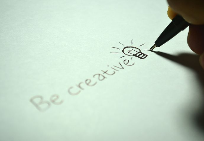 Being creative is vital for blogging to keep readers' interest