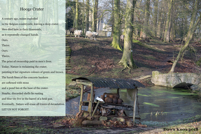 Hooge Crater - from Dawn Kentish Knox's blog