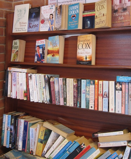 Mystery book exchange