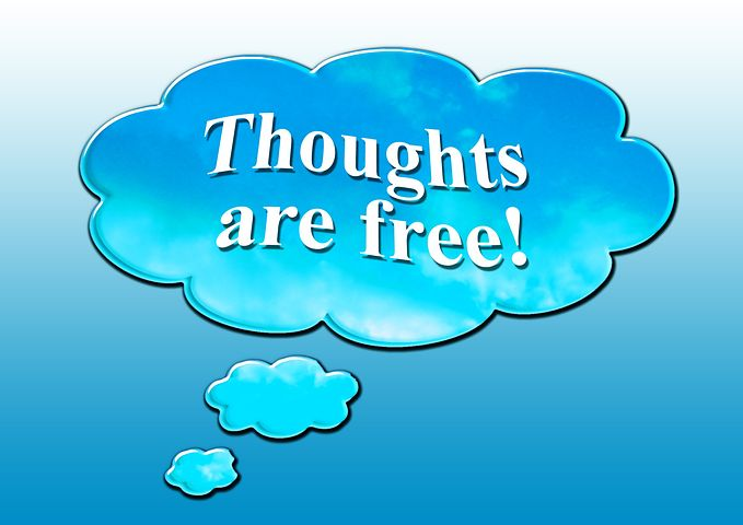 Thoughts are free but check your images on your blog are your own or are free from copyright restrictions