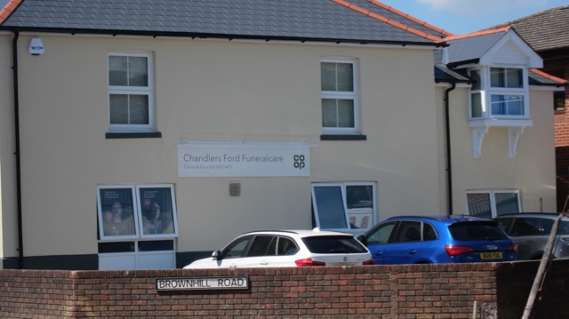 Chandler's Ford Funeralcare, Brownhill Road.