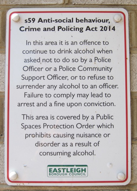 S59 Anti-social Behaviour, Crime and Policing Act 2014