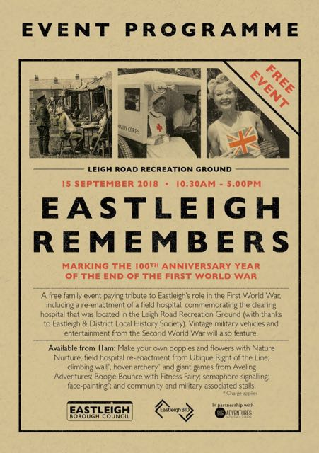 Eastleigh Remembers event programme
