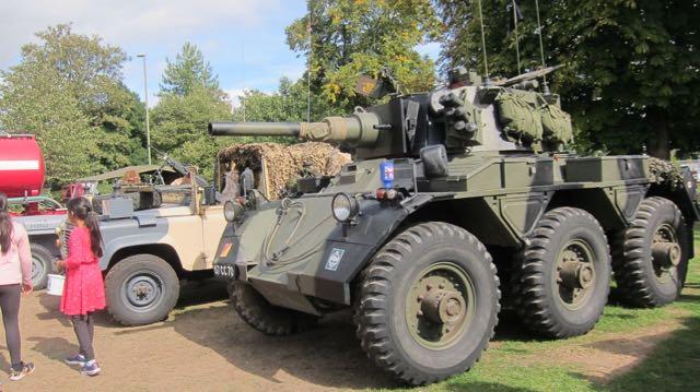 Eastleigh Remembers tanks