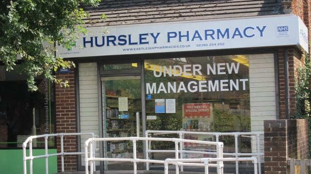 Hursley Pharmacy on Hursley Road