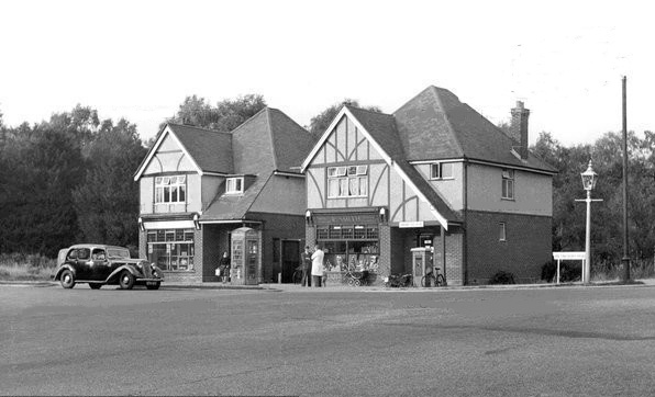 Where was this iconic building in Chandler's Ford? Image credit: John Clarke