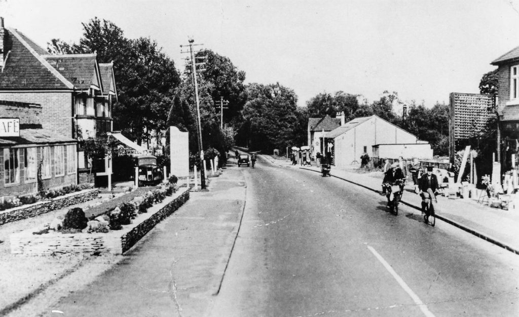 Where was this in Chandler's Ford? Image credit: Eastleigh and District Local History Society.
