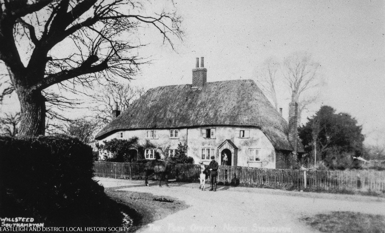 What was this building about? What is it today? Image credit: Eastleigh and District Local History Society