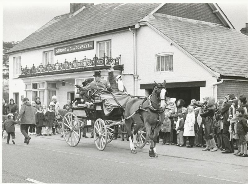 Halfway Inn Christmas. Image credit: Eastleigh and District Local History Society