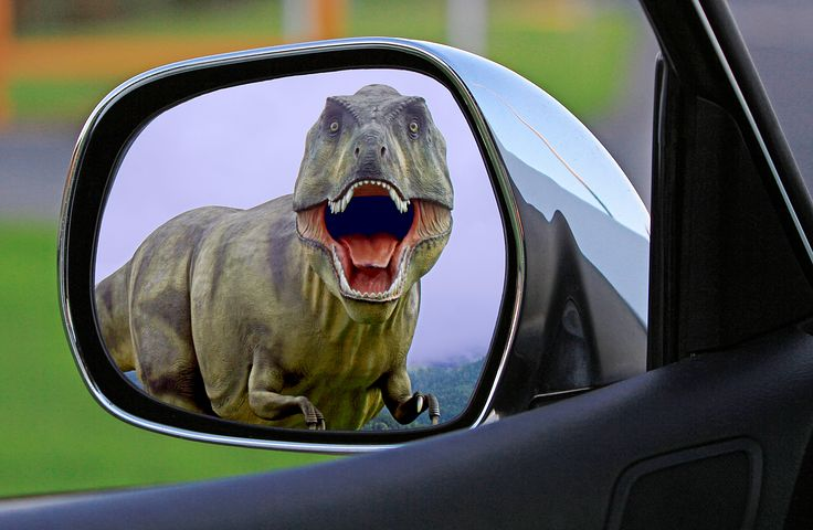 If you spot this in your mirror, you are definitely in the wrong time zone - Pixabay image