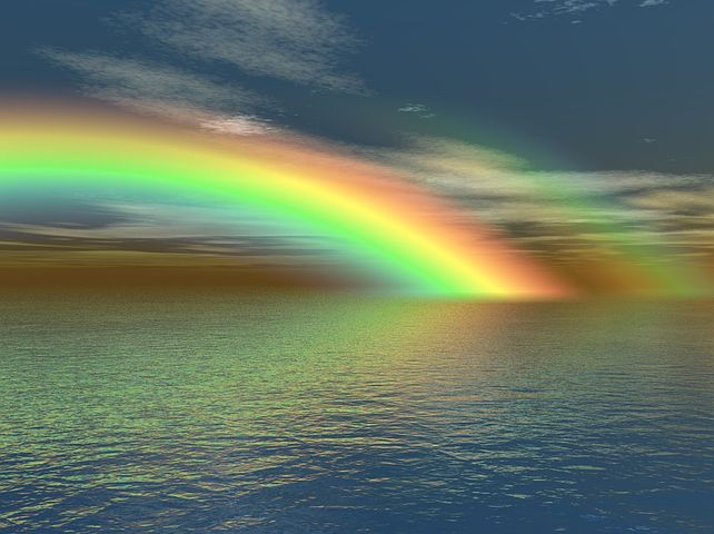 Rainbow - Pixabay image