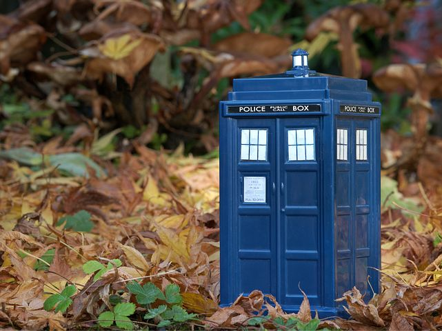 The most famous time machine of them all - The Tardis - Pixabay image