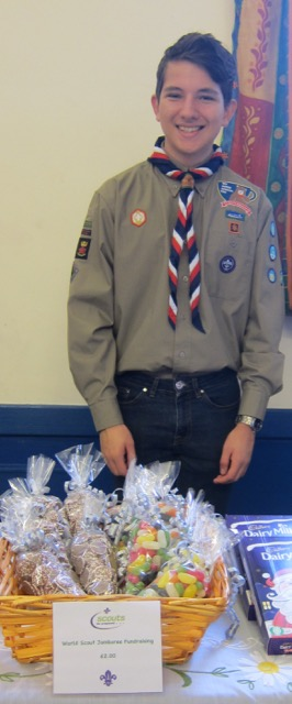 Fundraising for World Scout Jamboree