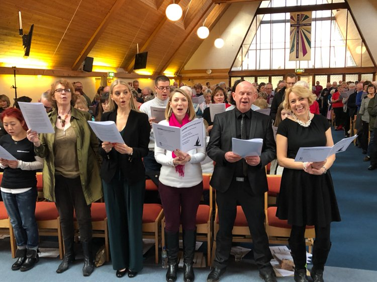 BBC Radio Solent: Chandler's Ford Methodist Church Christmas Carol Concert 2018. Image: BBC