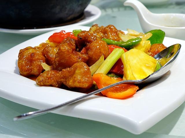 sweet sour pork Cegoh image via Pixabay