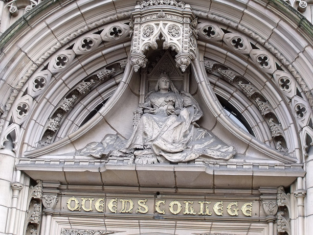 Queen's College, Birmingham - Queen Victoria. Image by Elliott Brown via Flickr.