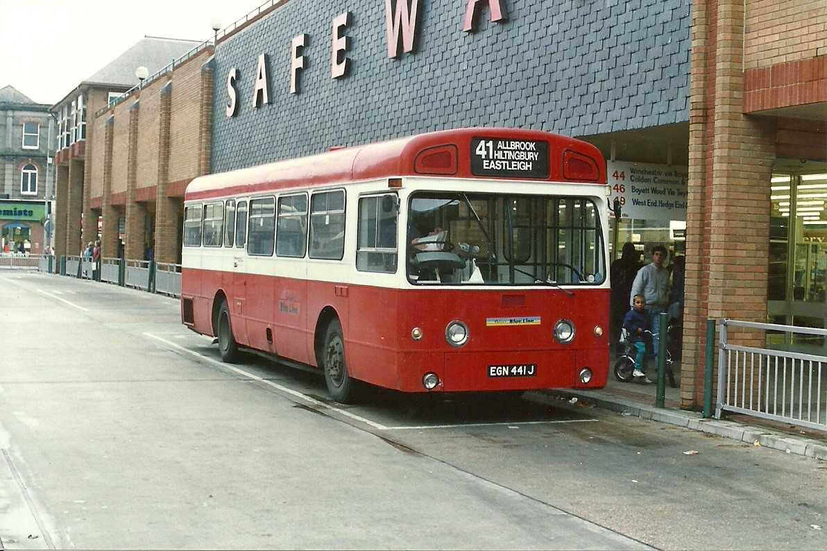 Do you recognise this bus? The supermarket there used to be Safeway!