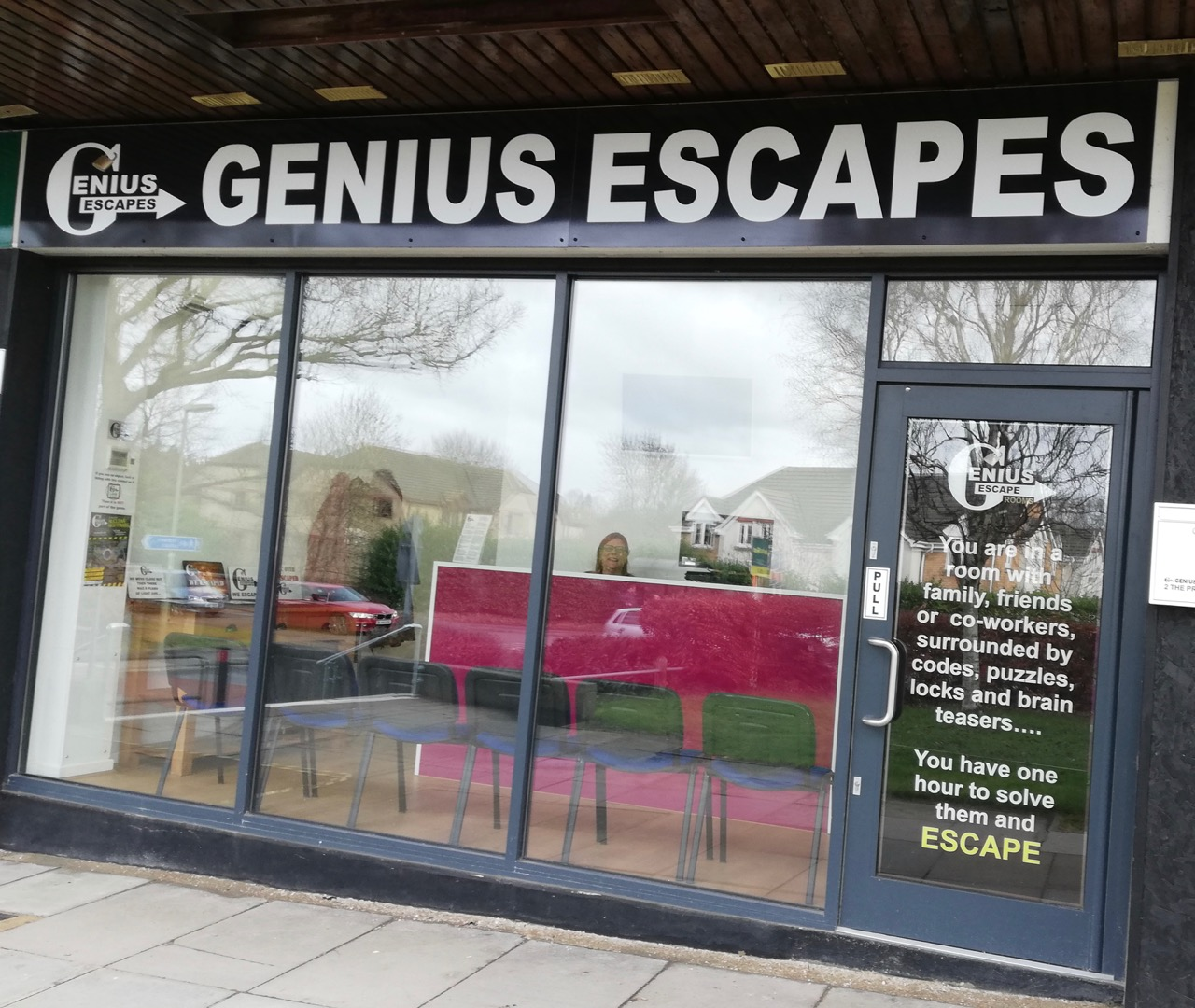 GeniusGenius Escapes in Chandler's Ford - where is this business? What does it do? When did it start?