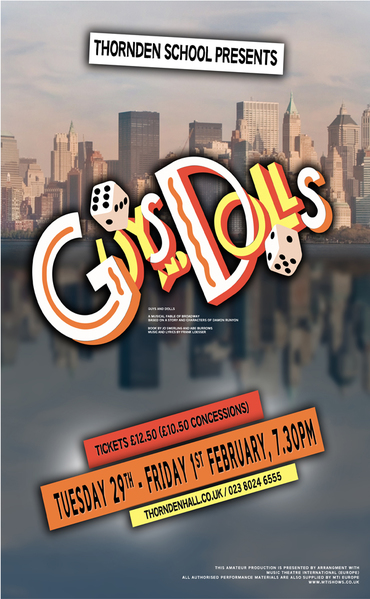 Guys and Dolls Advertisment