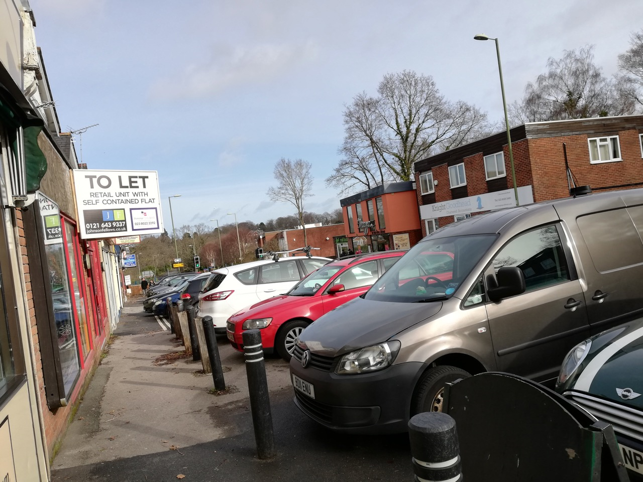 Let's be more considerate when parking on Bournemouth Road