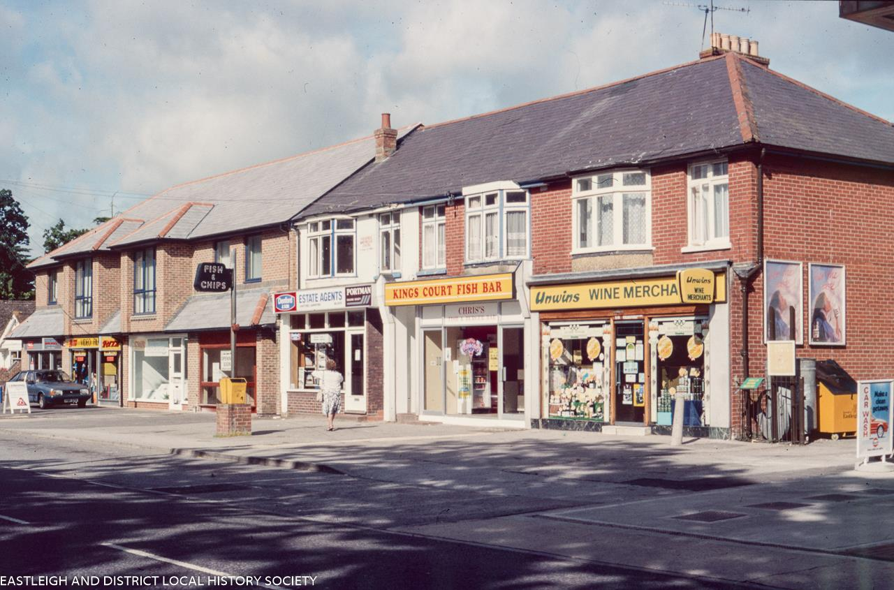 Chandler's Ford - do you remember these shops and the people there? Have the shops been replaced?