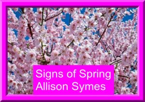 Feature Image - Signs of Spring