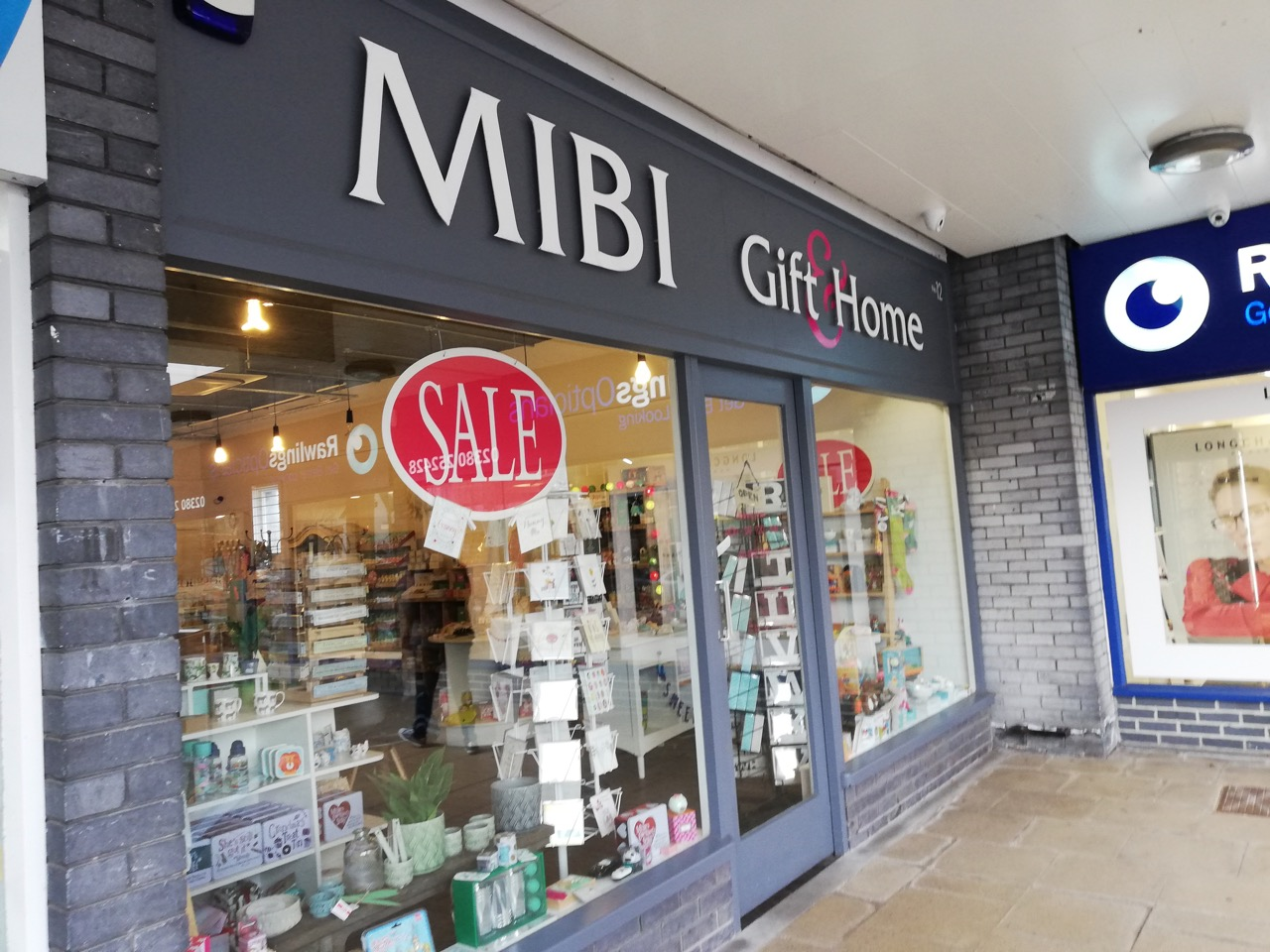 Mibi shop in Chandler's Ford - at Fryern Arcade