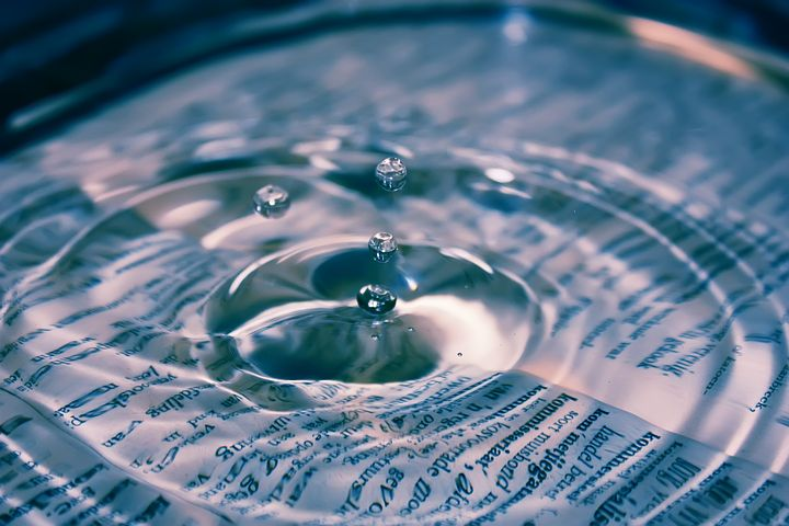 The very essence of life - clean water. Pixabay