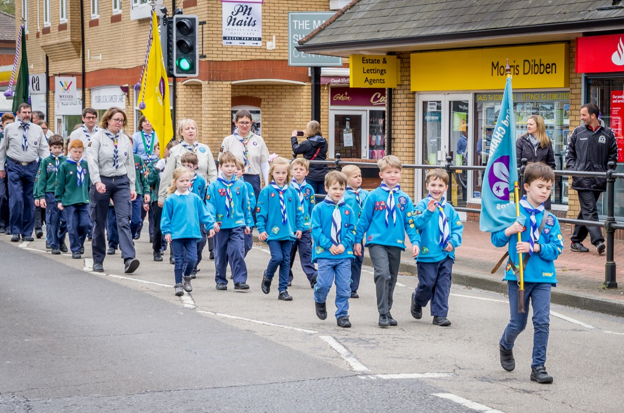 St George's Day Parade Chandler's Ford: 28th Apr 2019. Image credit: Debbie Pearce Photography