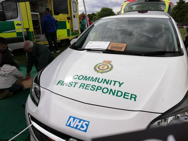 Chandler's Ford First Responder
