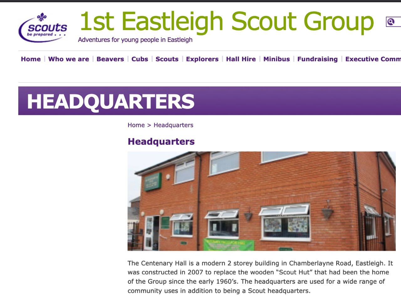 First Eastleigh Scout Group