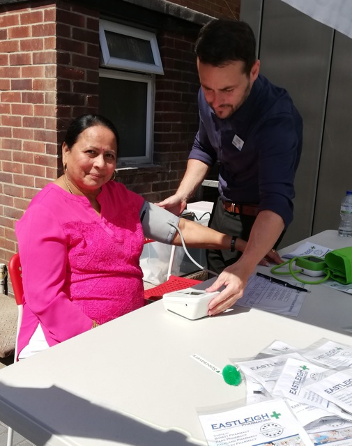 Eastleigh Pharmacies at Chandler's Ford Specsavers - free blood pressure checks