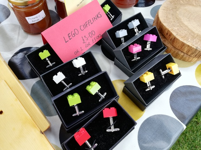 Supporting Chandler's Ford Scouts - beautiful Lego Cufflinks at a great price.