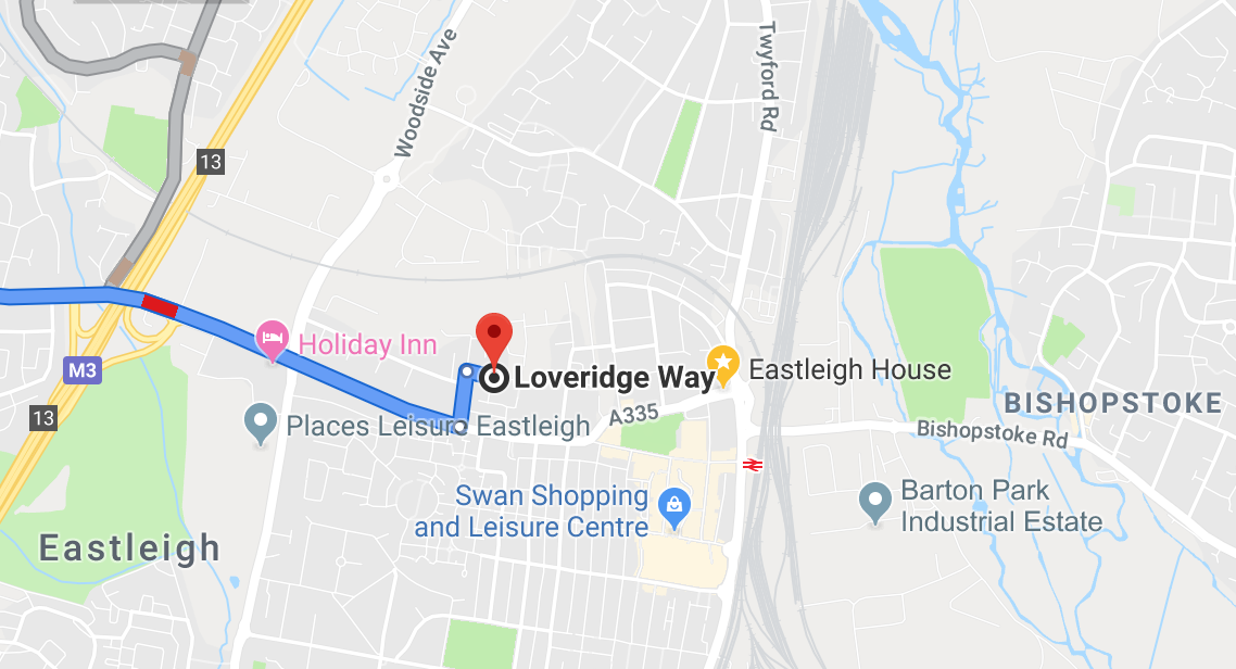 Loveridge Way, Eastleigh